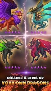 DragonFly Idle games Merge Dragons & Shooting 3.4 Mod (Unlimited Gold/Diamonds/Stones) 2