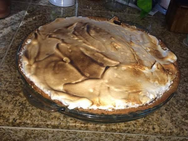 Pumpkin-molasses Pie With Spiced Meringue Recipe