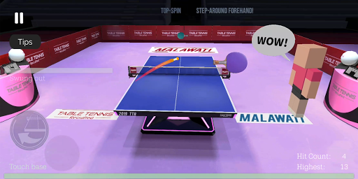 Table Tennis ReCrafted! android2mod screenshots 19