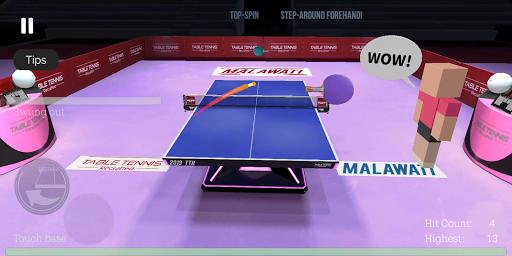 Table Tennis ReCrafted! apktram screenshots 19