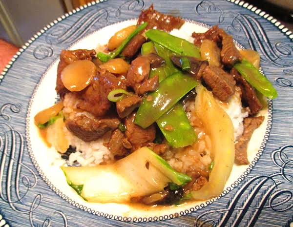 Beef & Chinese Vegetables Recipe