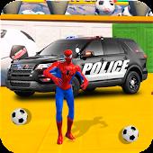 Tải Superheroes Police Car Stunt Top Racing Games miễn phí