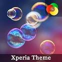 bubbles | Xperia™ Theme icon