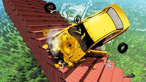 Beamng Drive Death Stair Car Crashes  screenshots EasyGameCheats.pro 1