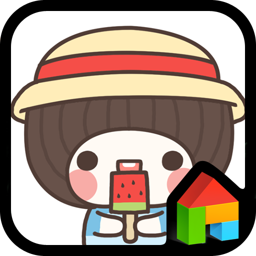 bebeicecreamDodolLauncherTheme 個人化 LOGO-玩APPs