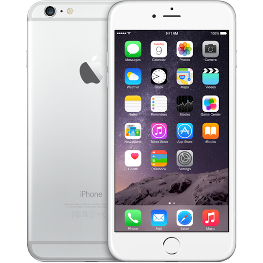 Apple iPhone 6 Plus 16GB Silver (A+)