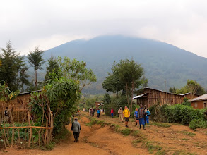 Photo: Musanze district - volcano Bisoke (3711 m)