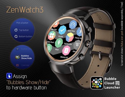 Bubble Cloud Wear Launcher Watchface (Wear OS) 9.39 screenshots 8
