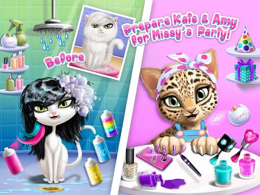 Cat Hair Salon Birthday Party - Virtual Kitty Care 6.0.20 screenshots 18