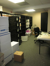 Photo: The Mercantile Capital Corporation file room mid-move...To see more of the craziness visit www.504blog.com.