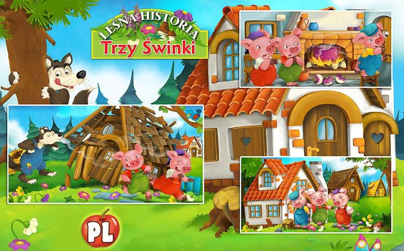 Скриншот Bajka i Puzzle Trzy Świnki