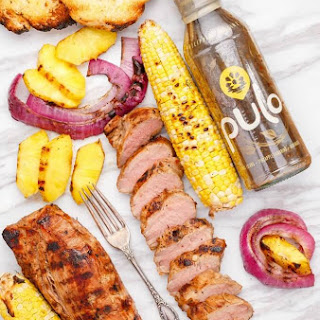 Pineapple Tamarind Grilled Pork Tenderloin.