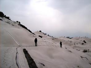 Photo: und auch gefährlich, der Weg ist schwer zu finden....