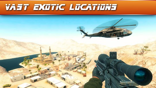 Sniper Ops 3D Shooting Game v57.0.2 (Mod Money/Energy) 3