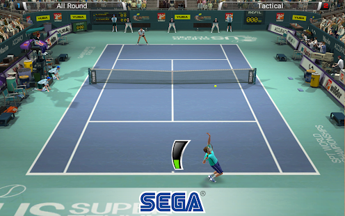 Virtua Tennis Challenge Screenshot