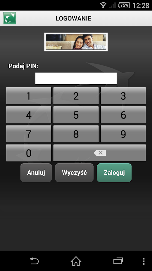 BGZ BNP Paribas Mobile Pl@net- screenshot