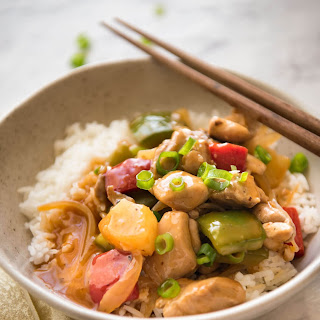 Spicy Chicken Stir Fry Rice Recipes