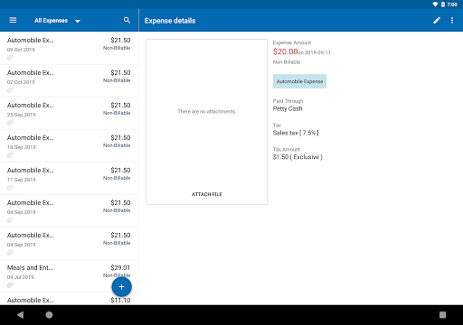 Zoho Invoice - Online Invoicing & Billing Software 5.23.07 screenshots 11