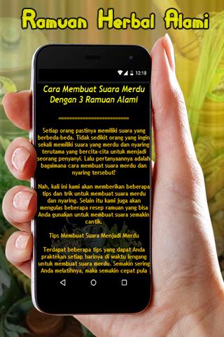 Download Ramuan Herbal Agar Suara Bagus Free For Android Ramuan Herbal Agar Suara Bagus Apk Download Steprimo Com