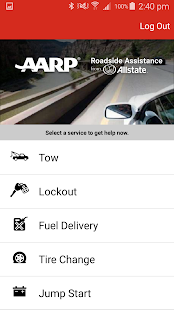 AARP Roadside from Allstate- screenshot thumbnail