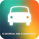 S Georgia and S Sandwich GPS icon