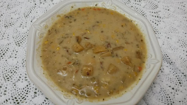 Laura's Crock-pot Rustic Potato Soup Recipe