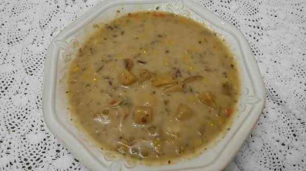 Laura's Crock-pot Rustic Potato Soup Recipe