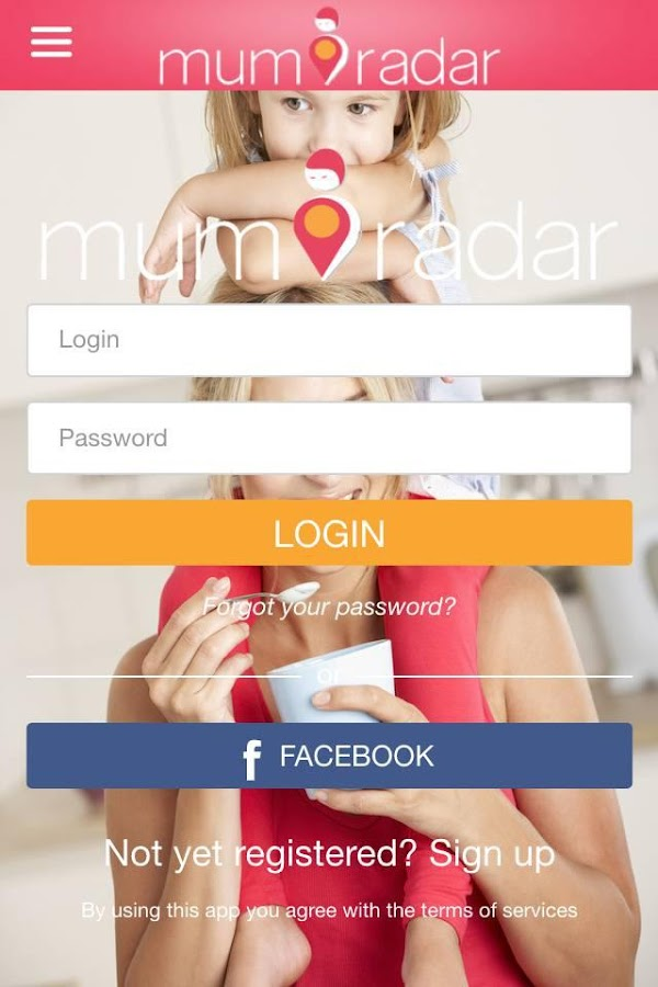 MumRadar- screenshot