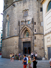 Photo: Our favorite cathedral in Barcelona - Santa Maria del Mar.