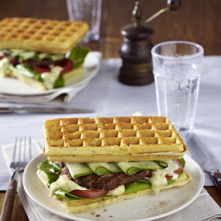Waffle Burgers.
