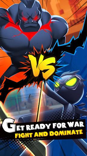 Clash of Stickman-Street Fight  captures d'écran 1