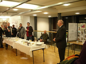 Photo: View from the Top Exhibition - Introduction by Councillor Leon Unczur