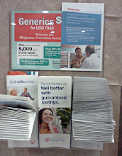 Photo: And below it you can't see what the pamphlets are for.