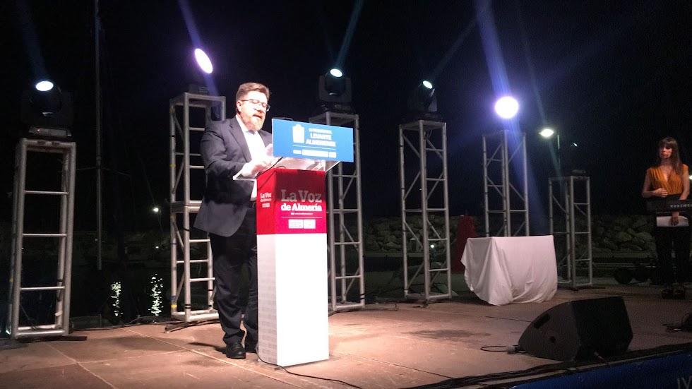 El consejero de Agricultura, Desarrollo Rural y Pesca de la Junta de Andalucía, Rodrigo Sánchez, ha cerrado los IX Premios Levante.
