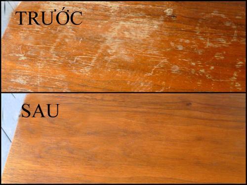 Kết quả hình ảnh cho lau chùi bàn gỗ