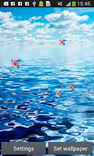 oceánu živé tapety - náhled