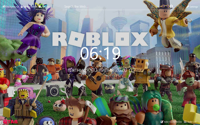 Roblox Wallpapers Roblox New Tab Hd