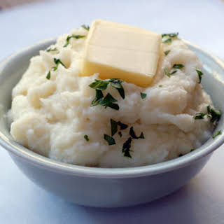 Mashed Cauliflower.