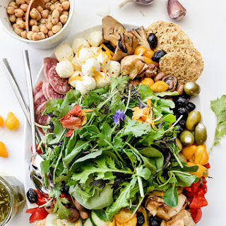 How to Create the Ultimate Italian Salad Platter.