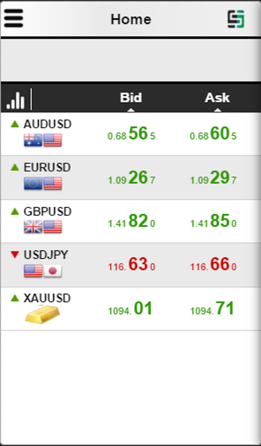 KeyStock Mobile Trader- screenshot