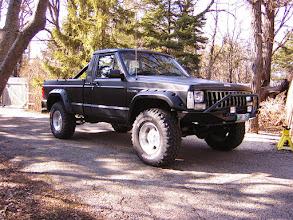 Photo: Colin Hillyard's Jeep Comanche
