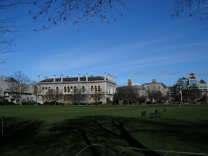 Photo: Museum Building, seen across College Park, at Trinity College Dublin