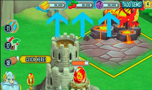 FREE Gems Dragon City Prank for PC