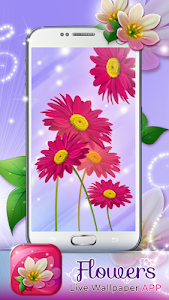 Flowers Live Wallpaper App screenshot 6