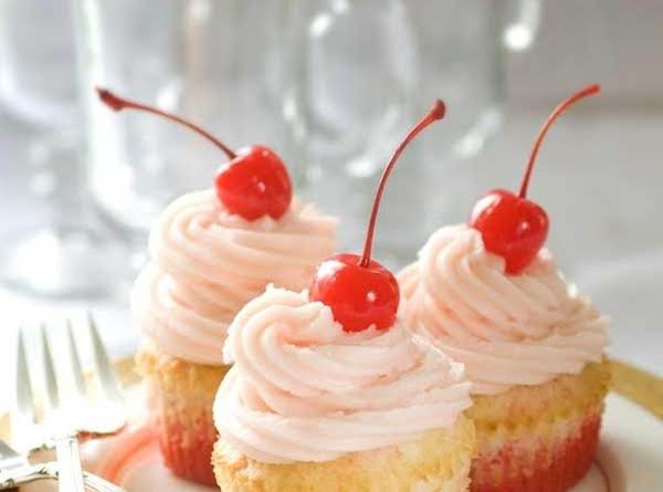 Gluten Free Shirley Temple Cupcakes Recipe