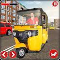 Real Rickshaw Driving Simulator-Tuk Tuk Games icon