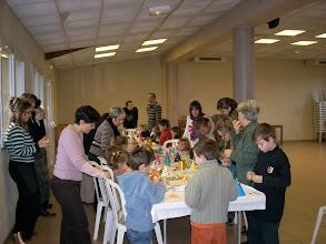 Photo: Le goûter de Noël le 15 décembre 2007