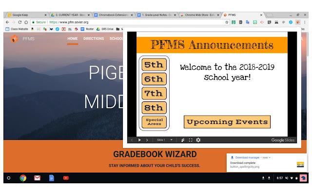 PFMS Announcements