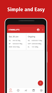 StrongLifts 5x5 Workout Gym Log & Personal Trainer Screenshot