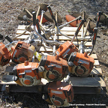 Photo: Lot 44 - (Pallet #4) - 7 Stihl FS-250 Weed Eaters